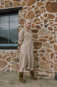 rowie the label - andy organic midi - fawn