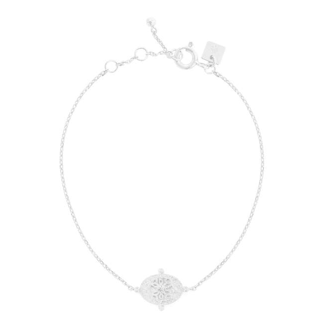 by charlotte - silver path of life bracelet