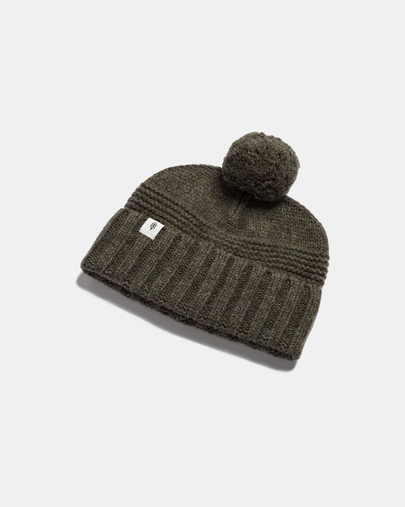 will and bear - tasman beanie -  moss