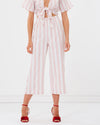 charlie holiday - soho beach pant - pink stripe