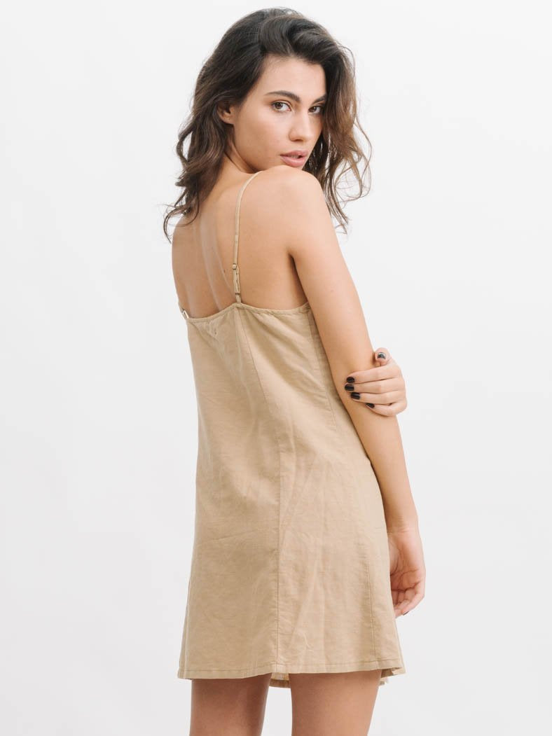 thrills - billie panel dress - sesame
