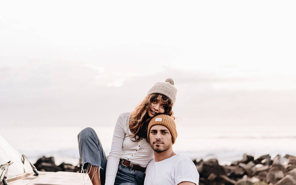 will and bear - tasman beanie - fawn