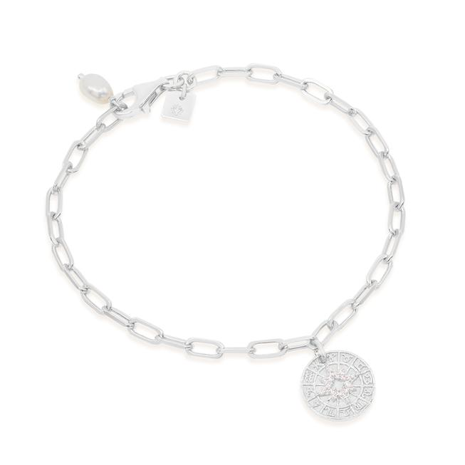 by charlotte - written in stars bracelet - silver
