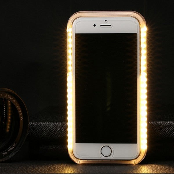 LUNA SHADES - I-LIGHT I-PHONE 6 COVER - ROSE GOLD