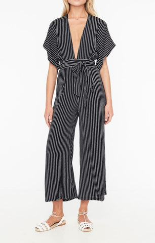 faithfull the brand - presley jumpsuit - plain washed blue