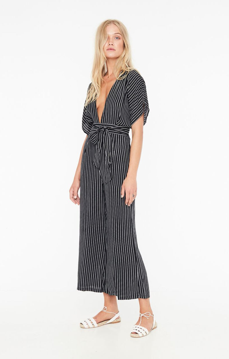 FAITHFULL THE BRAND - CEDRIC JUMPSUIT - SAN CRISTOBAL STRIPE - XS