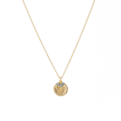 BY CHARLOTTE - GOLD DIVINE PROTECTION NECKLACE