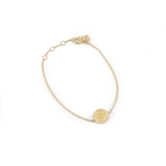 BY CHARLOTTE - GOLD LOTUS RISING BRACELET