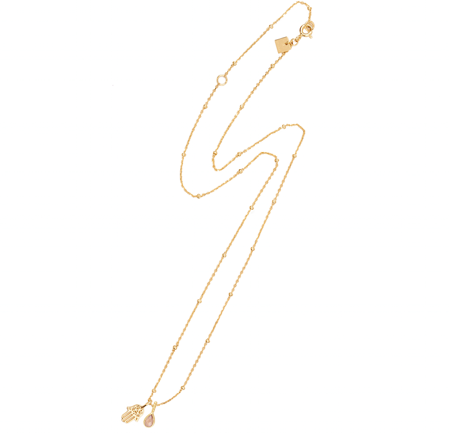 BY CHARLOTTE- GOLD PROTECTION NECKLACE
