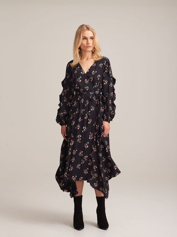 STEELE - VALENICA L/S DRESS