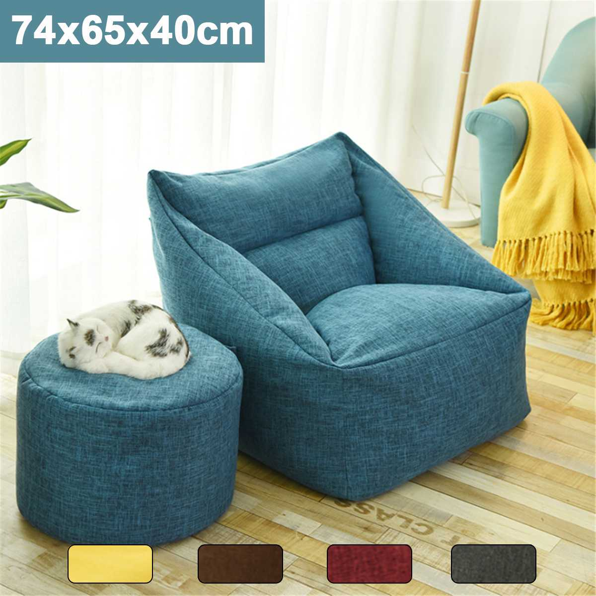 Surprising Premium 2019 Convertible Bean Bag Chairs Waterproof Bean Bag Sofa Lazy Big Bean Bags Pabps2019 Chair Design Images Pabps2019Com