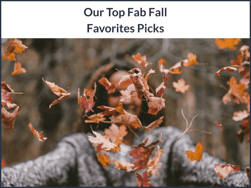 Our Top Fabulous Fall Favorites Picks