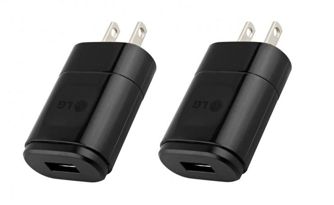 [2-Pack] LG Wall Charger Adapters with 1.8A USB Port Adapters