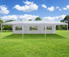 10x30 Foot Party Gazebo Tent - Choose 5 or 8 Removable Walls