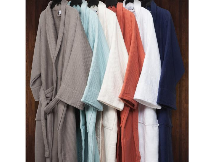 Daily Deals 100% Cotton Waffle Weave Spa Bath Robe Robes