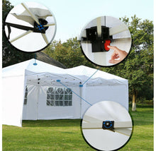 Instant 10'x20' Pop-Up Canopy with Case & Removable Walls