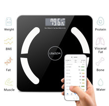 Leadzm Smart Bluetooth Digital Scale with iOS & Android App