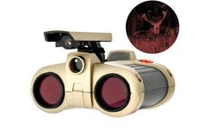 Night-Scope Binoculars w/ 4X Magnification & Pop-Up Light for Night View