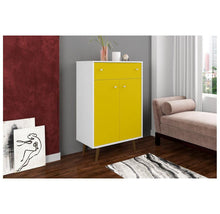 Manhattan Comfort Liberty Storage Cabinet with Drawer - 9 Styles Storage Cabinets & Lockers