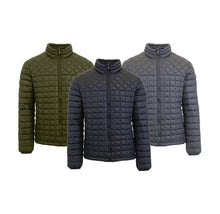 Men's Quilted Puffer Jacket by Galaxy by Harvic with Full Zip Closure Coats & Jackets