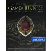 Game of Thrones: Season 7 Limited Edition Steelbook (Blu-ray+Digital HD) with Red Dragonstone Sigil Magnet  - UntilGone.com