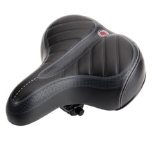 Wide Bicycle Seat with Stitched Gel Padding  - UntilGone.com