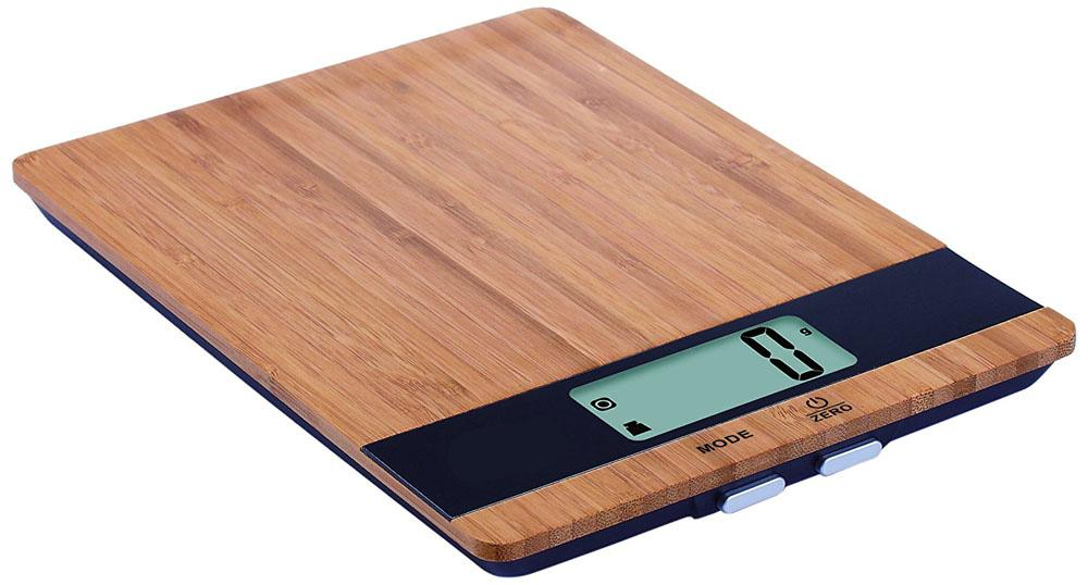 Digital Kitchen Scale with Bamboo Platform – Weighs up to 11 Pounds Kitchen Tools & Utensils