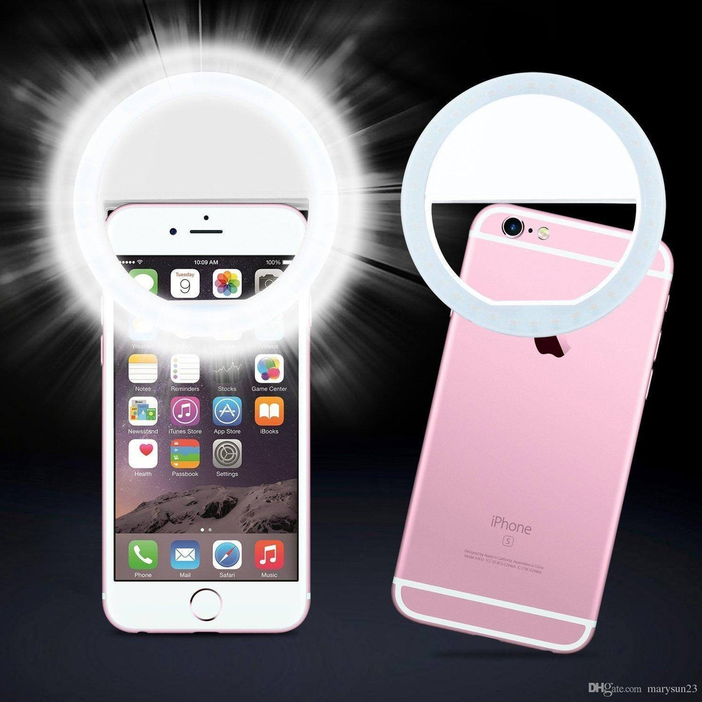 Clip-On Smartphone LED Selfie Light Mobile Phone Accessories