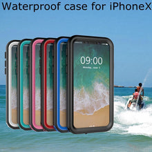 Waterproof Protective Case for Apple iPhone 8/8+ or iPhone X Mobile Phone Cases
