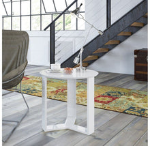 Manhattan Comfort Madison Round Accent End Table End Tables