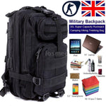 30L Tactical Military Style Backpack With Padded Back Panel