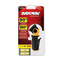 [2-Pack] Rayovac Industrial Grade Swivel Flashlight with AA Batteries  - UntilGone.com