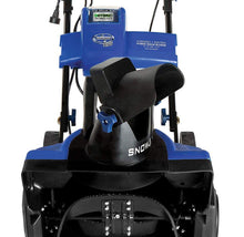 "Snow Joe 18"" Hybrid Snow Blower - 40V Battery Cordless or Corded Operation Snow Blowers"