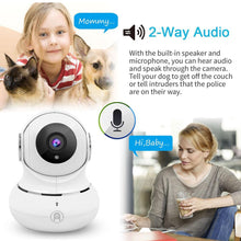 Panoramic 1080p HD Surveillance Camera with Night Vision & Two-Way Audio  - UntilGone.com