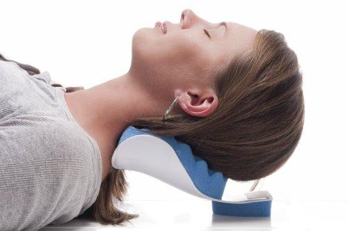 Dr. Kay's Therapeutic Neck Support Tension Reliever, Neck and Shoulder Relaxer  - UntilGone.com