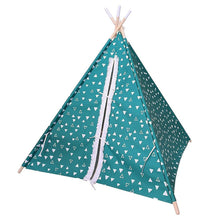 Pillowfort Green Explorer Solid Pine Frame Teepee Playhouse  - UntilGone.com