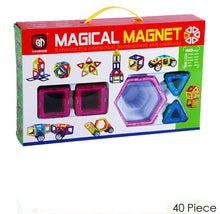 Magical Magnet Learning & Building Toy Set for Kids - 3 Choices 40 Piece - UntilGone.com