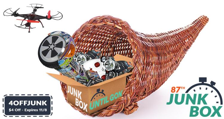 The 87th Junk Box - Giving Thanks Edition!  - UntilGone.com