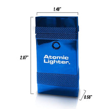 [2-Pack] Atomic Lighter Deluxe Edition Rechargeable Plasma Beam Lighters  - UntilGone.com