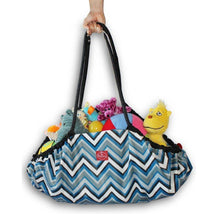 Two Red Hens Portable Playmat and Toy Tote in One Toys