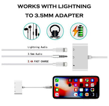 3-in-1 Lightning Adapter with 3.5mm Headphone Jack & Dual Lightning Ports  - UntilGone.com