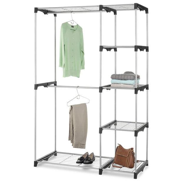 68-Inch Closet Organizer - Portable Clothes Hanger & Storage Rack Clothing & Closet Storage