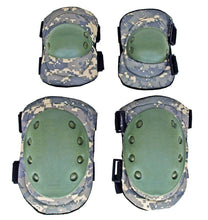 Digital Camo Tactical Elbow and Knee Pad Set Safety Knee Pads