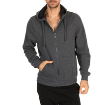 Men's Fleece Cotton-Blend Full Zip Hoodie  - UntilGone.com