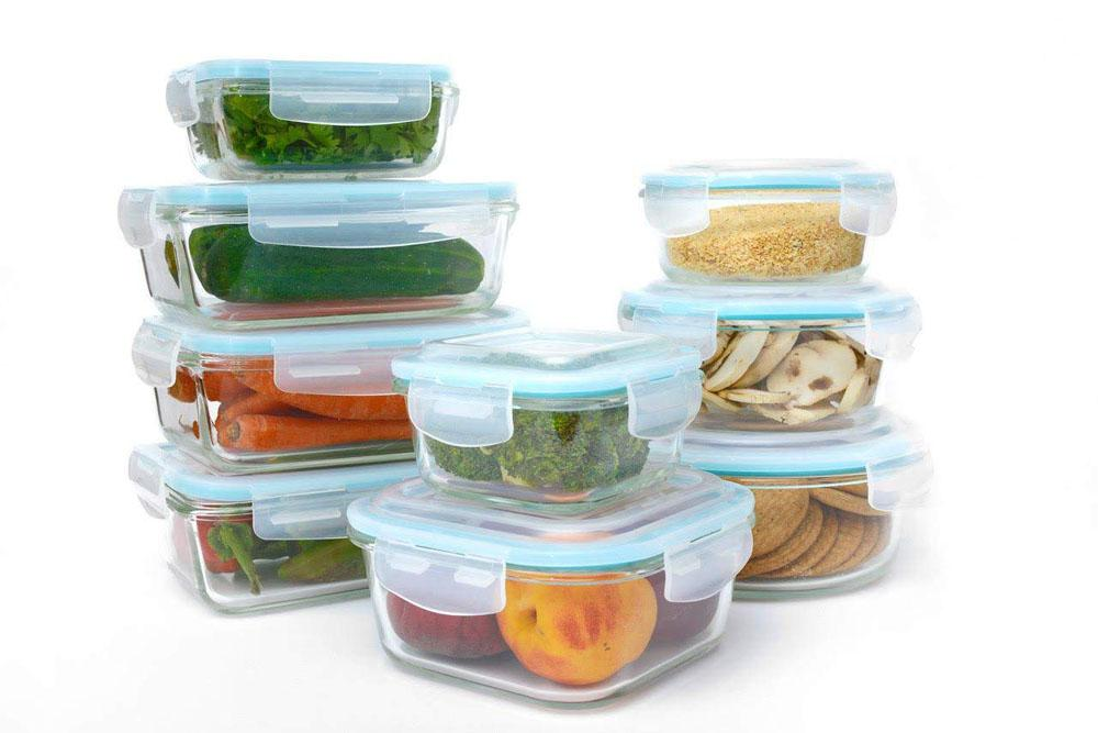 Glass Food Storage Containers With Locking Lids Extraordinary 60Piece Set] Glass Food Containers With SnapLock Lids UntilGone