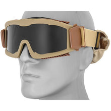 Lancer Tactical Eye Safety Goggles with Full Seal Foam Vented Pad  - UntilGone.com