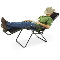 Zero Gravity Patio Lounge Chairs with Headrest (Set of 2)
