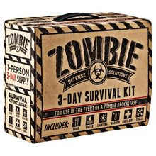 3-Day Zombie Survival & Disaster Kit with Food, Water, Light, Warmth, First-Aid & Tools  - UntilGone.com