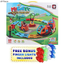 Magical Magnet Learning & Building Toy Set for Kids (7 Options) 69 Piece - UntilGone.com