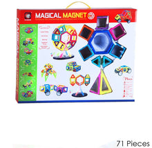 Magical Magnet Learning & Building Toy Set for Kids - 3 Choices 71 Piece - UntilGone.com
